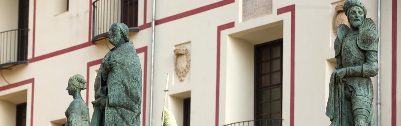 Antiga Universitat de Gandia, Escoles Pies