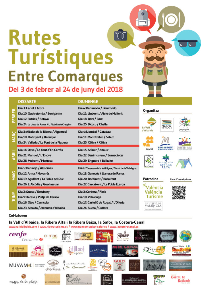cartell entre comarques 2018